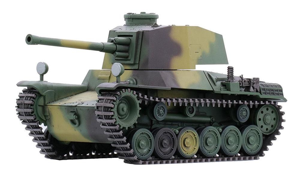 三式中戦車 チヌ (長砲身)プラモデル(フジミちび丸ミリタリーNo.012)商品画像_3