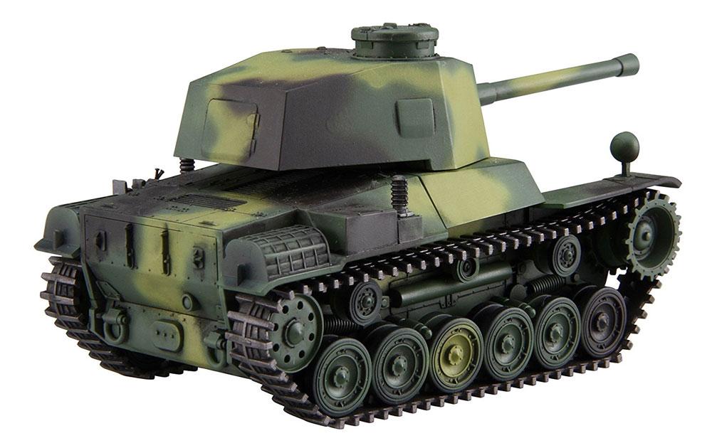 三式中戦車 チヌ (長砲身)プラモデル(フジミちび丸ミリタリーNo.012)商品画像_4