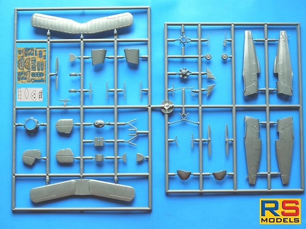 ビュッカー Bu133C ユングマイスター グリーンストライププラモデル(RSモデル1/72 エアクラフト プラモデルNo.92222)商品画像_1