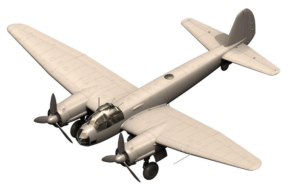 ユンカース Ju88A-4 爆撃機 枢軸国軍プラモデル(ICM1/48 エアクラフト プラモデルNo.48237)商品画像_2