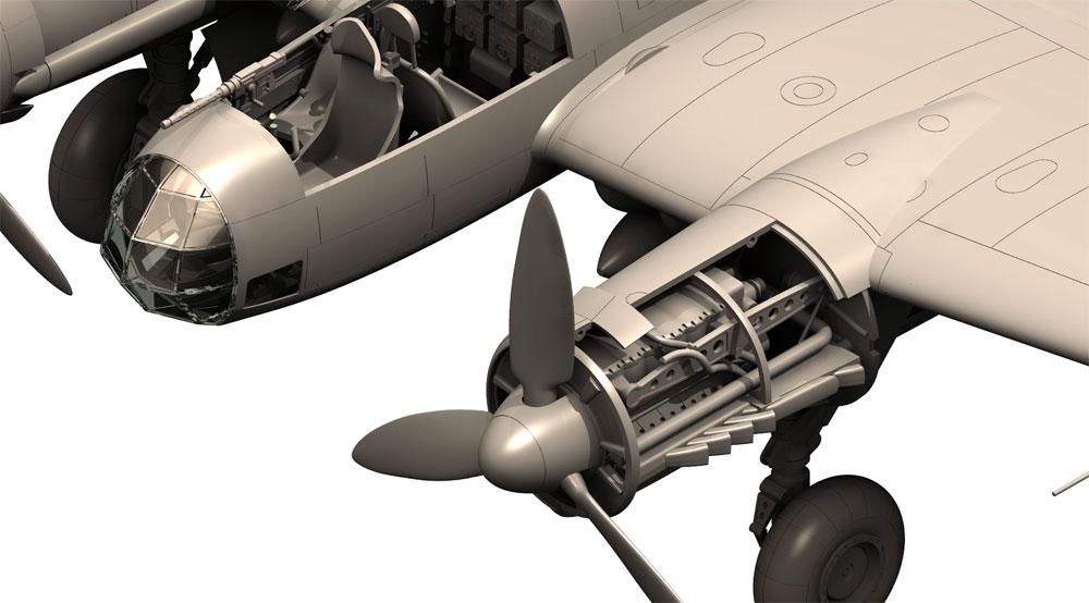 ユンカース Ju88A-4 爆撃機 枢軸国軍プラモデル(ICM1/48 エアクラフト プラモデルNo.48237)商品画像_4