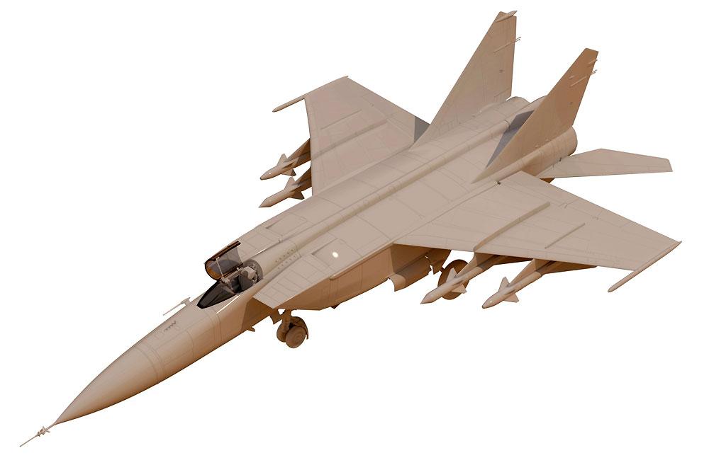 MiG-25PDプラモデル(ICM1/48 エアクラフト プラモデルNo.48903)商品画像_2