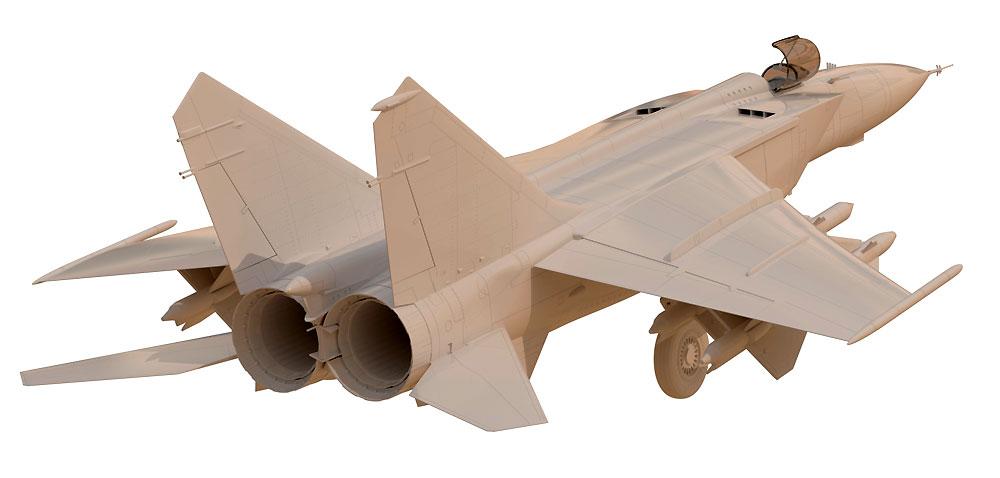 MiG-25PDプラモデル(ICM1/48 エアクラフト プラモデルNo.48903)商品画像_4