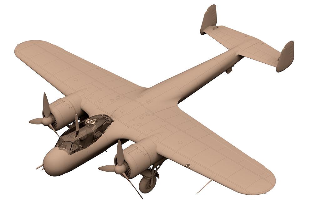 ドルニエ Do17Z-7 夜間戦闘機プラモデル(ICM1/72 エアクラフト プラモデルNo.72307)商品画像_2