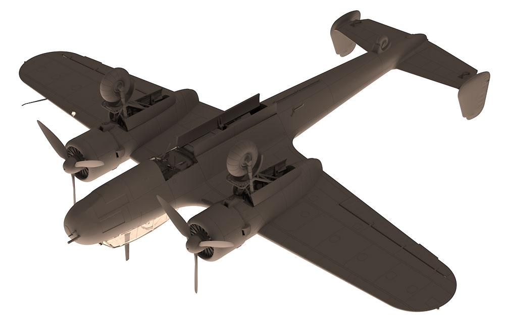 ドルニエ Do17Z-7 夜間戦闘機プラモデル(ICM1/72 エアクラフト プラモデルNo.72307)商品画像_3