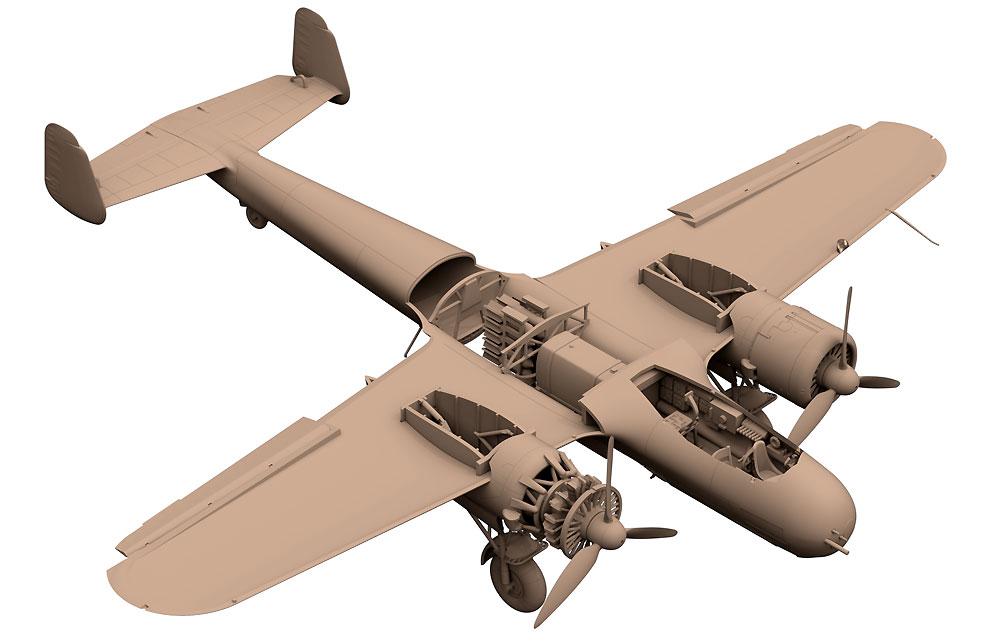 ドルニエ Do17Z-7 夜間戦闘機プラモデル(ICM1/72 エアクラフト プラモデルNo.72307)商品画像_4