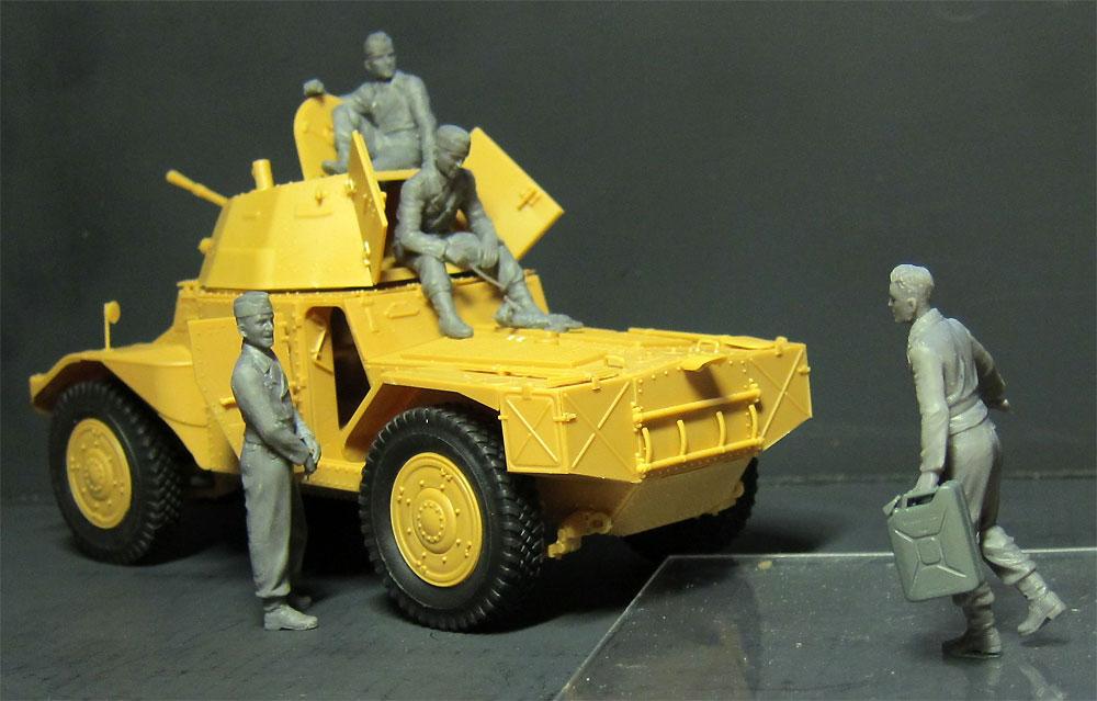 ドイツ P204(f) 装甲車 w/クループラモデル(ICM1/35 ミリタリービークル・フィギュアNo.35382)商品画像_3