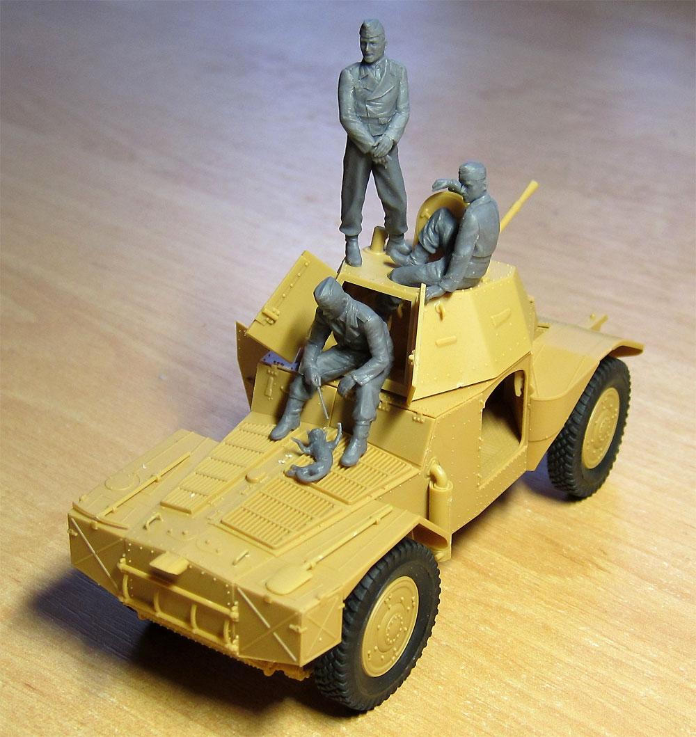 ドイツ P204(f) 装甲車 w/クループラモデル(ICM1/35 ミリタリービークル・フィギュアNo.35382)商品画像_4