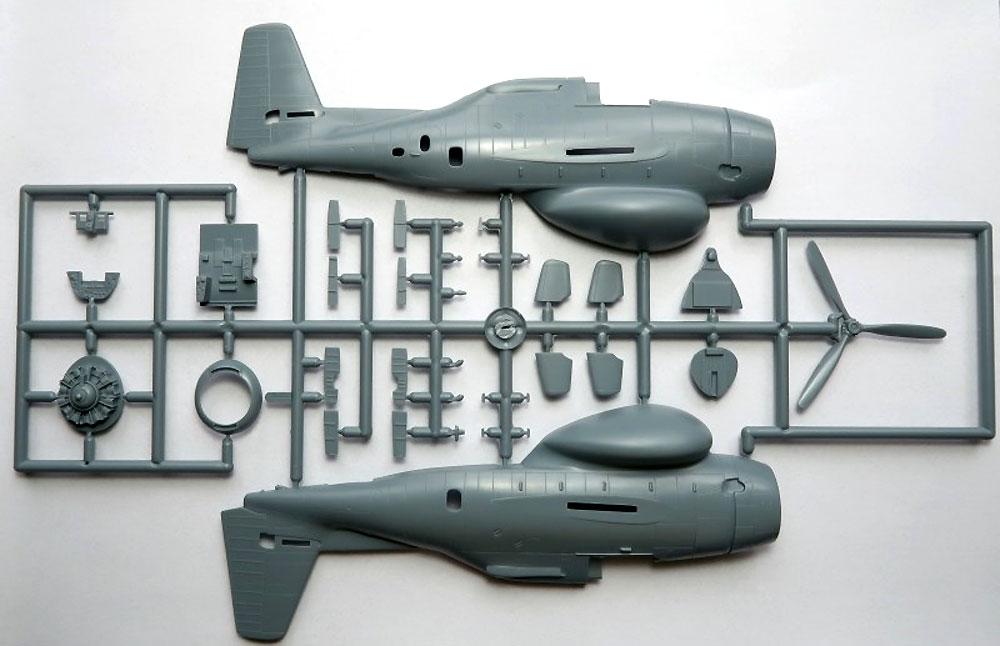 TBM-3W グッピー フランス海軍 オランダ海軍プラモデル(ソード1/72 エアクラフト プラモデルNo.72115)商品画像_2