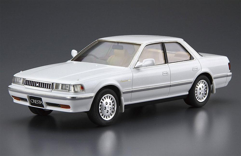 トヨタ JZX81 クレスタ 2.5 スーパールーセントG '90プラモデル(アオシマ1/24 ザ・モデルカーNo.旧081)商品画像_2