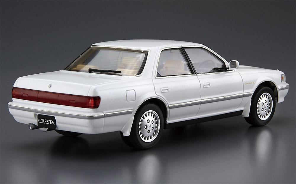 トヨタ JZX81 クレスタ 2.5 スーパールーセントG '90プラモデル(アオシマ1/24 ザ・モデルカーNo.081)商品画像_3