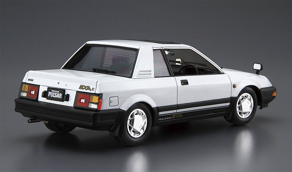ニッサン HN12 パルサー EXA '83プラモデル(アオシマ1/24 ザ・モデルカーNo.083)商品画像_3