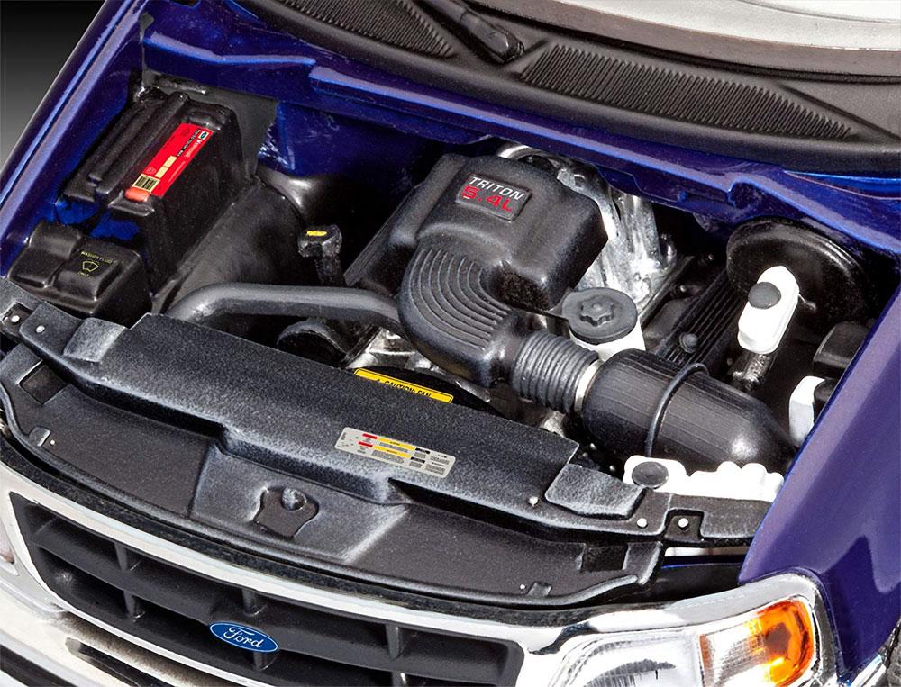 '97 フォード F-150 XLTプラモデル(レベルカーモデルNo.07045)商品画像_3