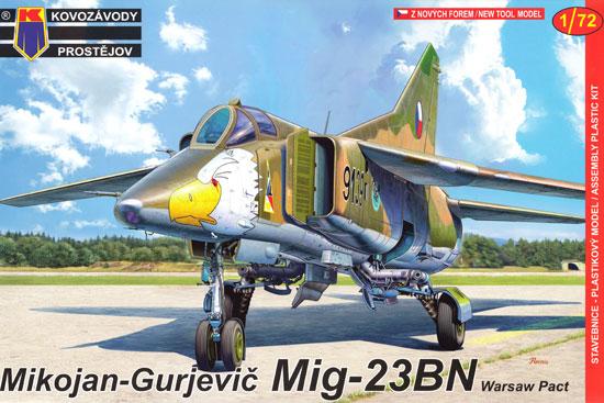 MiG-23BN ワルシャワ条約加盟国プラモデル(KPモデル1/72 エアクラフト プラモデルNo.KPM0095)商品画像