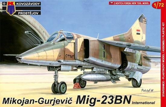 MiG-23BN インターナショナルプラモデル(KPモデル1/72 エアクラフト プラモデルNo.KPM0096)商品画像