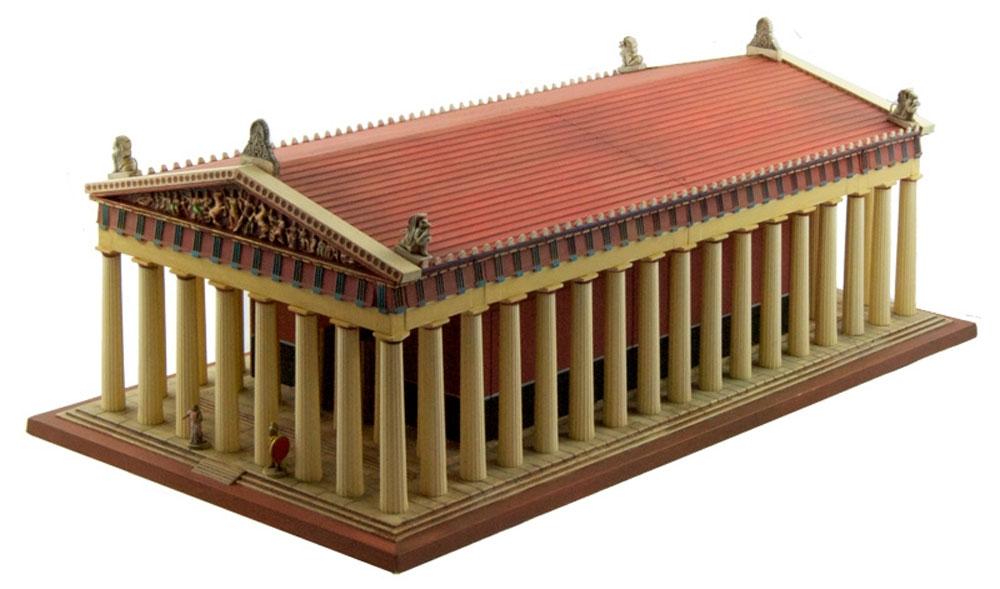 パルテノン神殿プラモデル(イタレリ世界の建築 (World Architecture)No.68001)商品画像_4