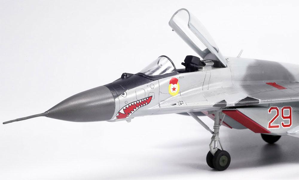 MiG-29 (9.13) フルクラムCプラモデル(プラッツ航空模型特選シリーズNo.AE-008)商品画像_3