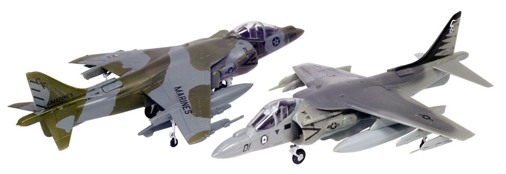 AV-8B ハリアー 2プラモデル(プラッツフライングカラー セレクションNo.FC-009)商品画像_3