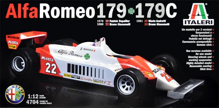 アルファロメオ 179/179Cプラモデル(イタレリ1/12 F1モデルNo.4704)商品画像