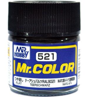 テーアシュバルツ RAL9021塗料(GSIクレオスMr.カラーNo.C-521)商品画像