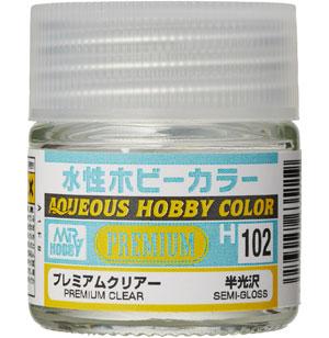 プレミアムクリアー 半光沢塗料(GSIクレオス水性ホビーカラーNo.H102)商品画像