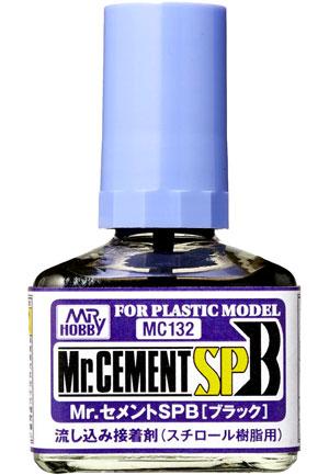 Mr.セメント SPB (ブラック)接着剤(GSIクレオス接着剤・パテNo.MC132)商品画像