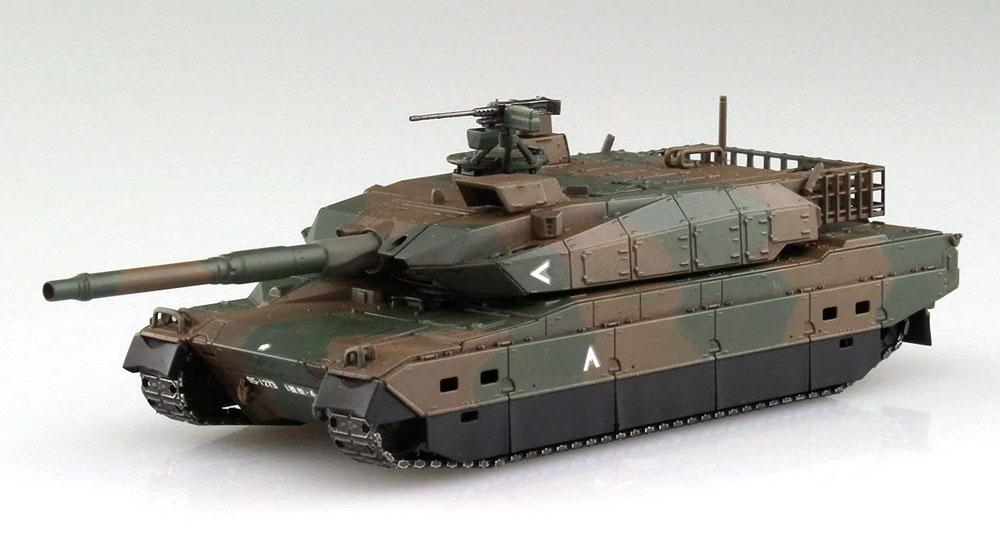 陸上自衛隊 10式戦車 & 特大型セミトレーラー付属プラモデル(アオシマ1/72 ミリタリーモデルキットシリーズNo.016)商品画像_3