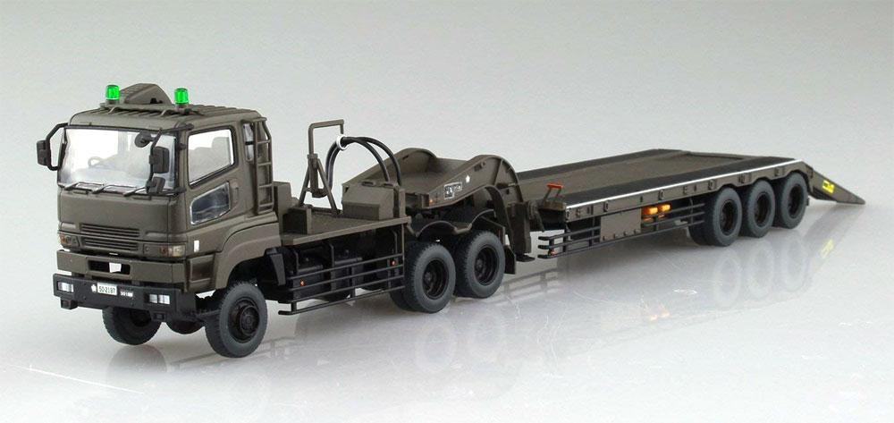 陸上自衛隊 10式戦車 & 特大型セミトレーラー付属プラモデル(アオシマ1/72 ミリタリーモデルキットシリーズNo.016)商品画像_4