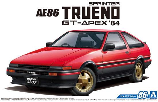 トヨタ AE86 スプリンタートレノ GT-APEX