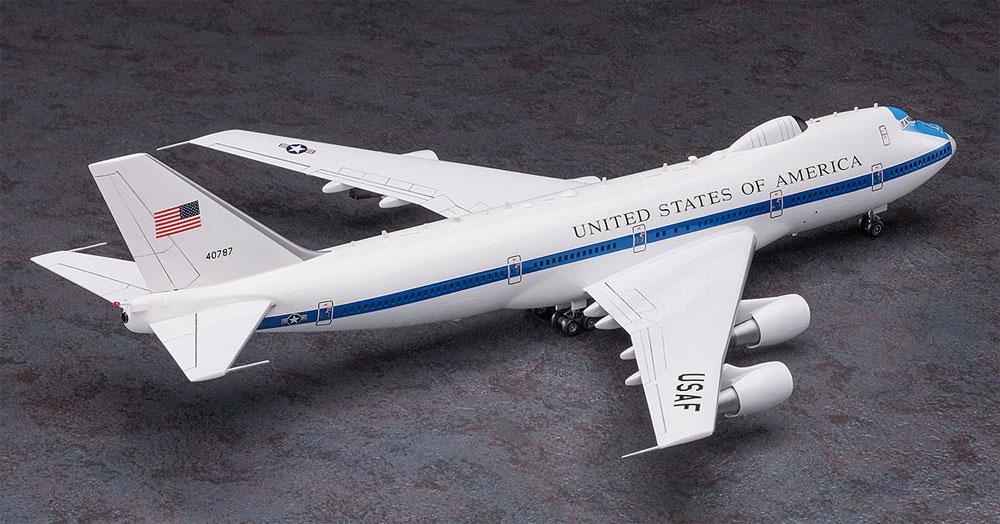 E-4B ナイトウォッチプラモデル(ハセガワ1/200 飛行機 限定生産No.10825)商品画像_3