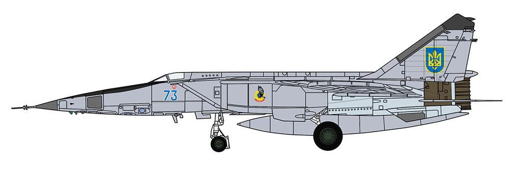 ミグ 25RBT フォックスバット ワールドフォックスバットプラモデル(ハセガワ1/48 飛行機 限定生産No.07471)商品画像_3