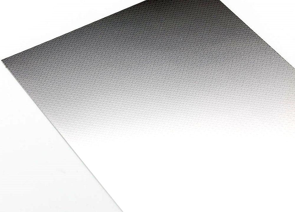 縞板フィニッシュ A (ステンレス) (曲面追従金属艶消しシート)曲面追従シート(ハセガワトライツールNo.TF932)商品画像_1
