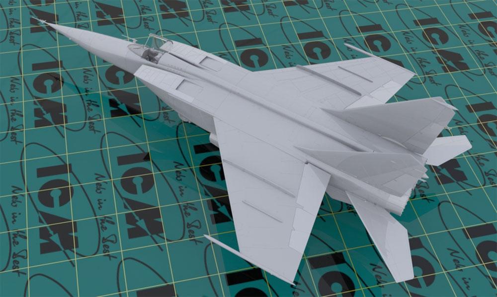 MIG-25 RBFプラモデル(ICM1/48 エアクラフト プラモデルNo.48904)商品画像_2