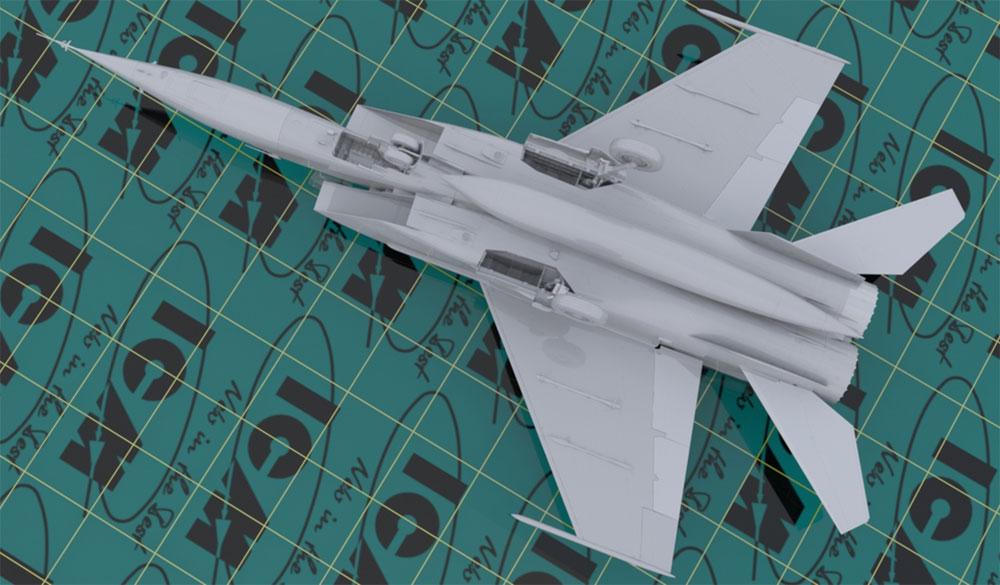 MIG-25 RBFプラモデル(ICM1/48 エアクラフト プラモデルNo.48904)商品画像_3