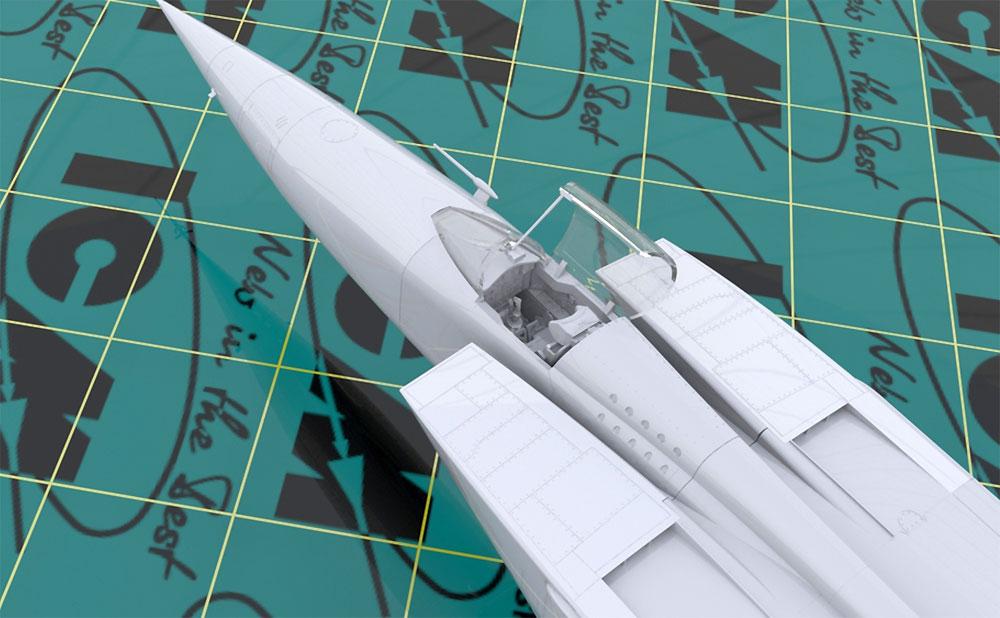 MIG-25 RBFプラモデル(ICM1/48 エアクラフト プラモデルNo.48904)商品画像_4