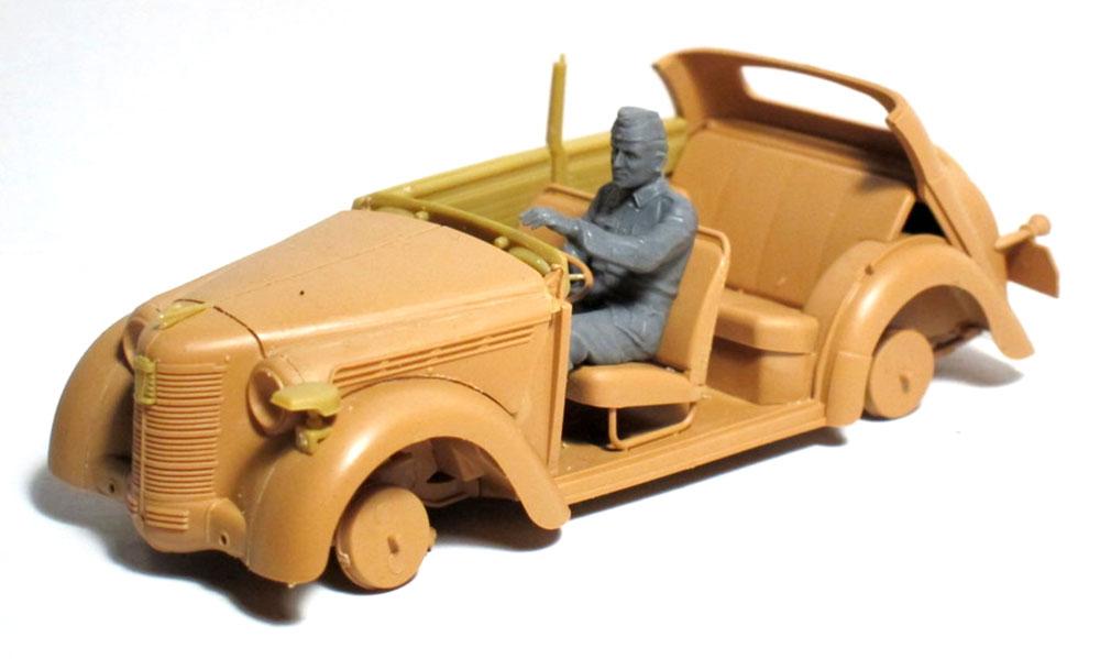 ドイツ軍 ドライバー (1939-1945)プラモデル(ICM1/35 ミリタリービークル・フィギュアNo.35642)商品画像_2