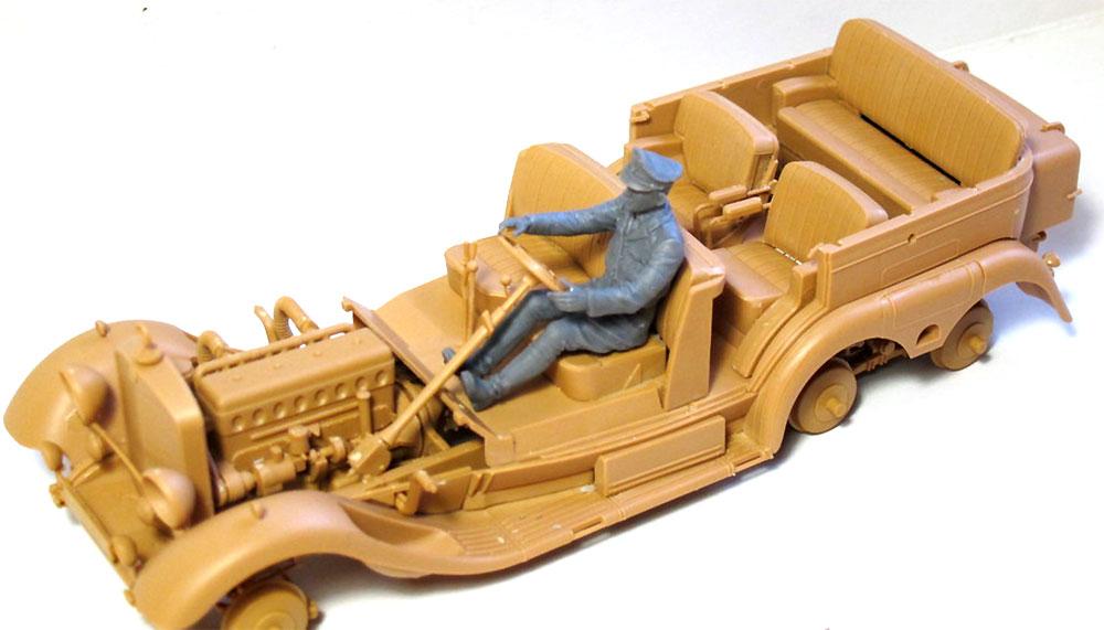 ドイツ軍 ドライバー (1939-1945)プラモデル(ICM1/35 ミリタリービークル・フィギュアNo.35642)商品画像_3
