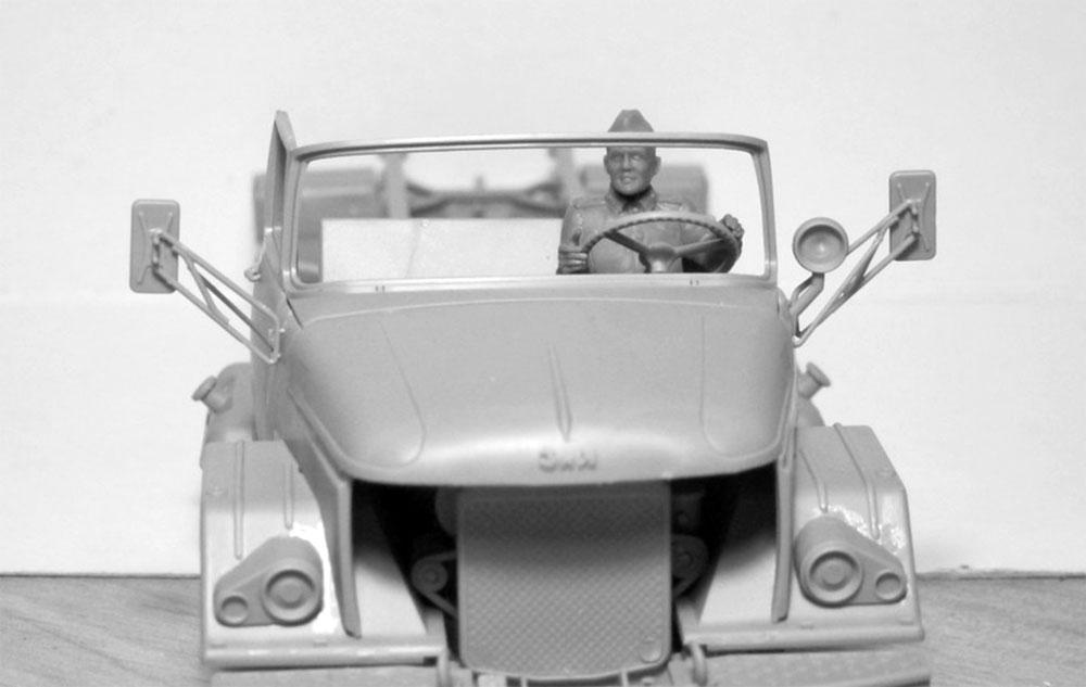 ソビエト 赤軍 ドライバー (1943-1945)プラモデル(ICM1/35 ミリタリービークル・フィギュアNo.35643)商品画像_2