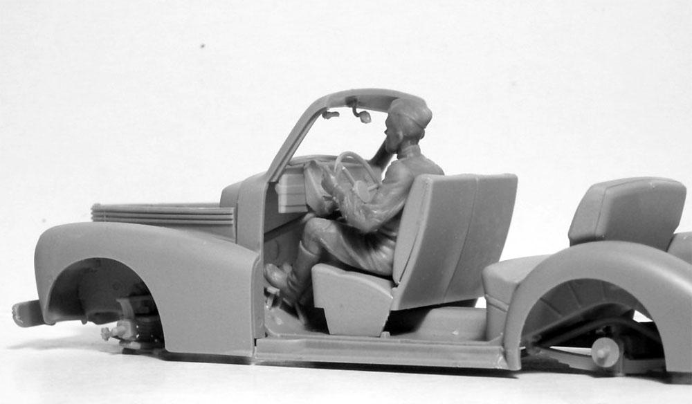 ソビエト 赤軍 ドライバー (1943-1945)プラモデル(ICM1/35 ミリタリービークル・フィギュアNo.35643)商品画像_3