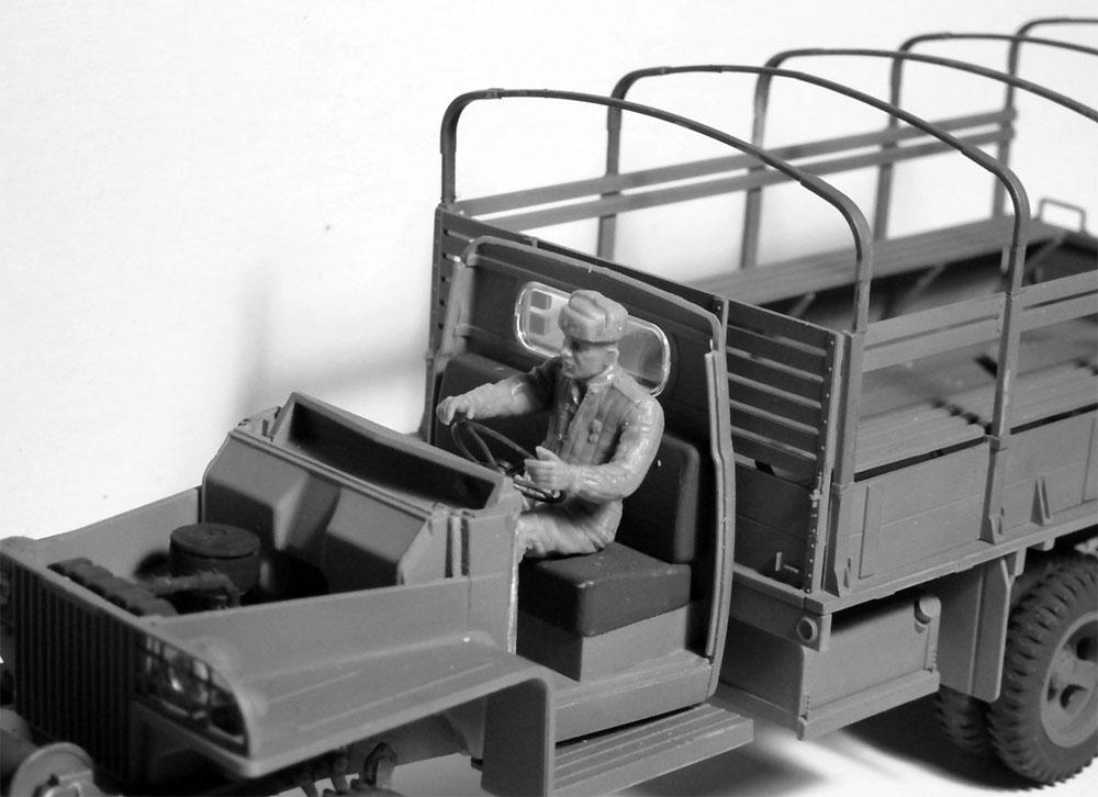 ソビエト 赤軍 ドライバー (1943-1945)プラモデル(ICM1/35 ミリタリービークル・フィギュアNo.35643)商品画像_4