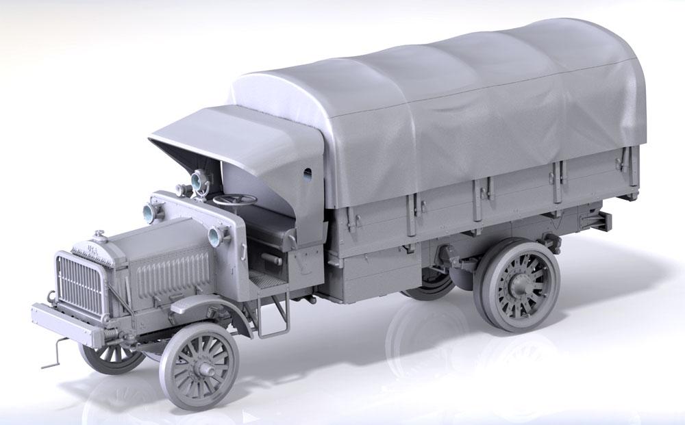 スタンダード B リバティ WW1 アメリカ陸軍 トラックプラモデル(ICM1/35 ミリタリービークル・フィギュアNo.35650)商品画像_2