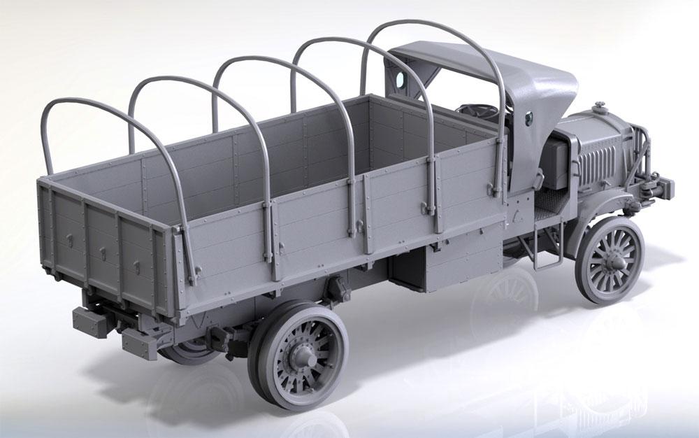 スタンダード B リバティ WW1 アメリカ陸軍 トラックプラモデル(ICM1/35 ミリタリービークル・フィギュアNo.35650)商品画像_3