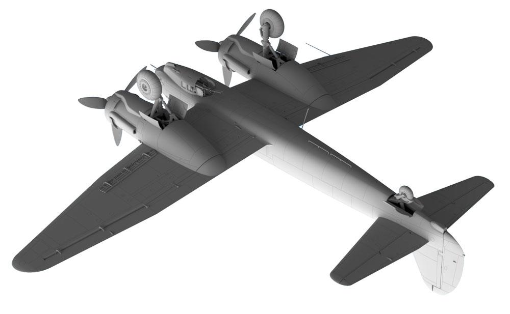 ユンカース Ju88C-6 重戦闘機プラモデル(ICM1/48 エアクラフト プラモデルNo.48238)商品画像_3