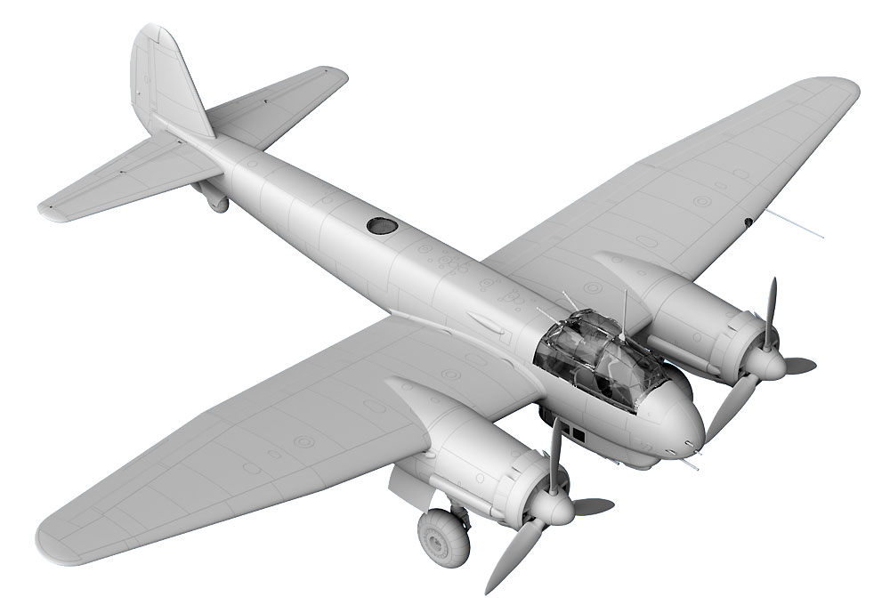 ユンカース Ju88C-6 重戦闘機プラモデル(ICM1/48 エアクラフト プラモデルNo.48238)商品画像_4