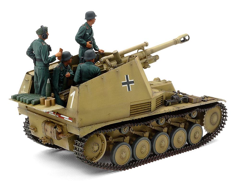 ドイツ 自走榴弾砲 ヴェスペ イタリア戦線プラモデル(タミヤ1/35 ミリタリーミニチュアシリーズNo.358)商品画像_2