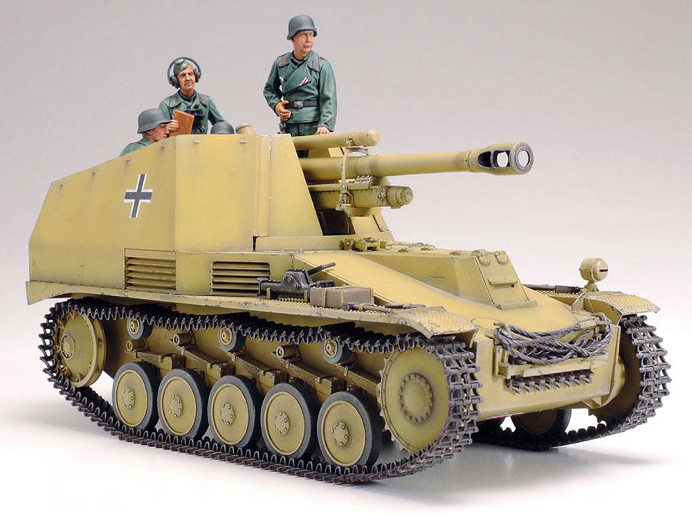 ドイツ 自走榴弾砲 ヴェスペ イタリア戦線プラモデル(タミヤ1/35 ミリタリーミニチュアシリーズNo.358)商品画像_3