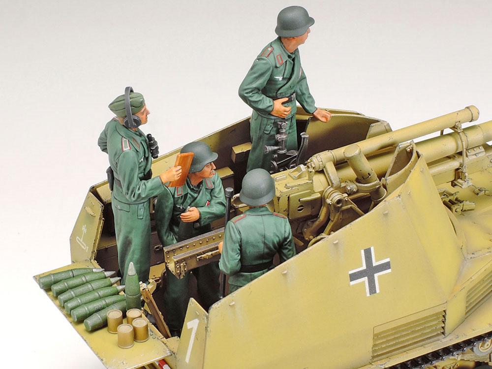ドイツ 自走榴弾砲 ヴェスペ イタリア戦線プラモデル(タミヤ1/35 ミリタリーミニチュアシリーズNo.358)商品画像_4