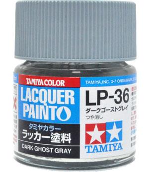 LP-36 ダークゴーストグレイ塗料(タミヤタミヤ ラッカー塗料No.LP-036)商品画像