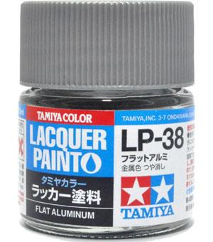 LP-38 フラットアルミ塗料(タミヤタミヤ ラッカー塗料No.LP-038)商品画像