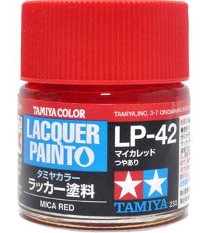 LP-42 マイカレッド塗料(タミヤタミヤ ラッカー塗料No.LP-042)商品画像